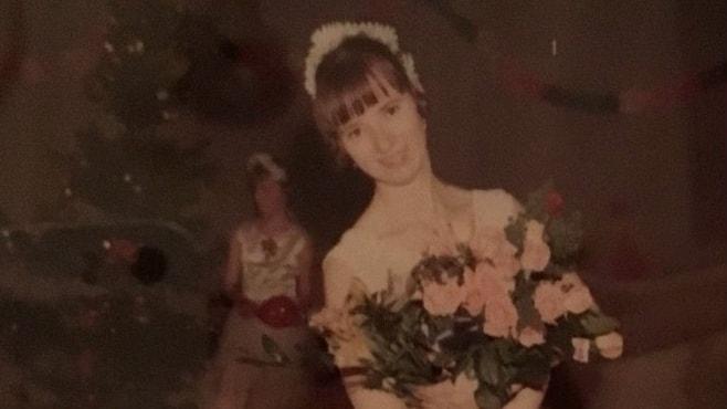 Margot Remdha som ung balettdansös.