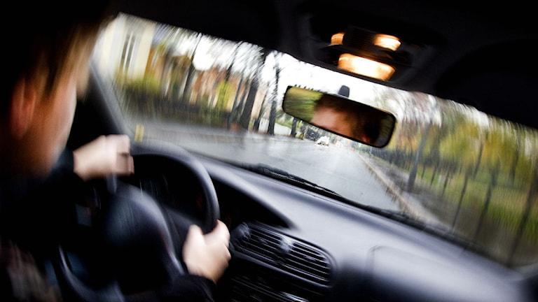 Man som kör rattfull. Foto: Gorm Kallestad/Scanpix