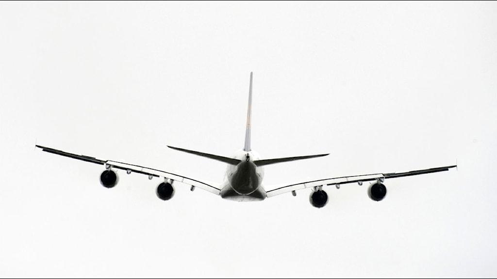 Flygplan. Foto: Leif R Jansson/Scanpix