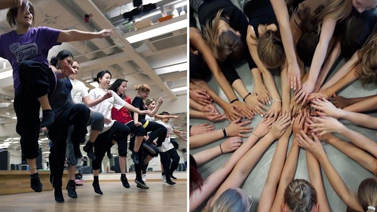 Dansen ska få unga tjejer att må bättre.