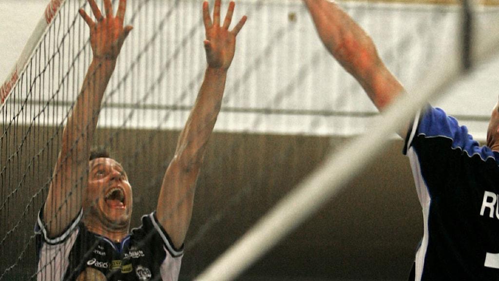 Volleyboll.  Foto: Måns Langhjelm/Scanpix