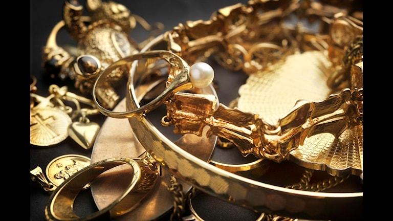 Kvinnan stal bland annat smycken. Foto: Staffan Löwstedt/Scanpix