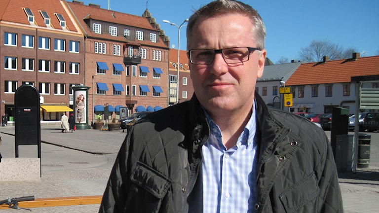 Integrationschef i Kungsbacka kommun Fredrik Geijer. Foto: Sveriges Radio