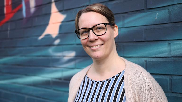 Författaren Sara H Olsson