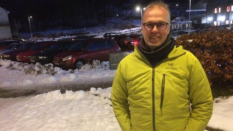 Stefan Wallner, planarkitekt i Hylte kommun.