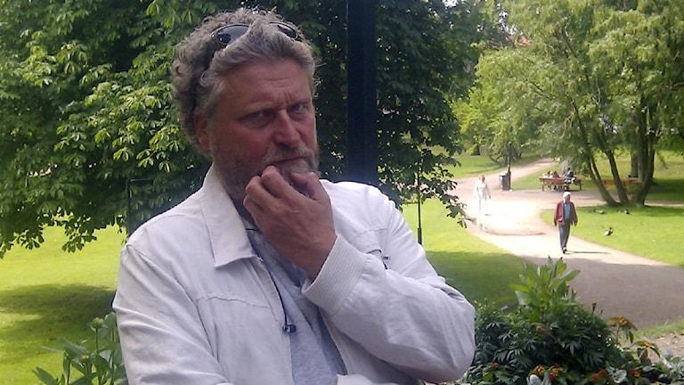Ulf Andersson, chef på Halmstad teater. Foto: Linda Thulin/Sveriges Radio