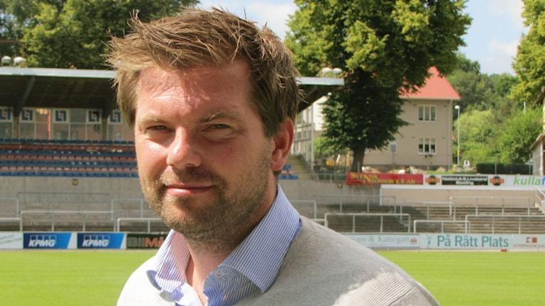 Jens Gustafsson, ny tränare i HBK. Foto: Linda Ringi/Sveriges Radio