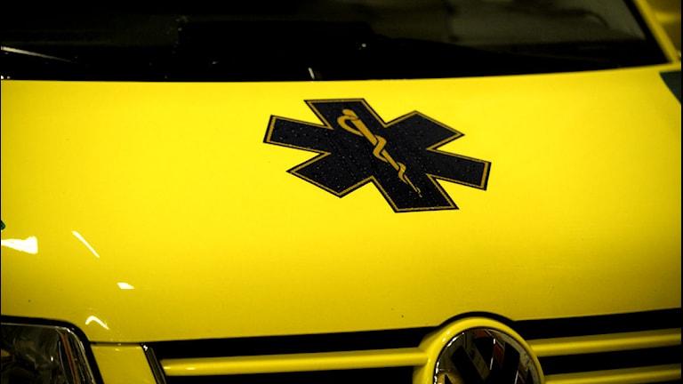 Ambulans. Foto: Leif R Jansson/Scanpix