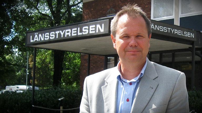 Jörgen Peters, länsråd i Halland. Foto: Ann Jornéus/Sveriges Radio