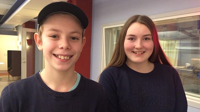 Sara Lundqvist och Isac Nelson