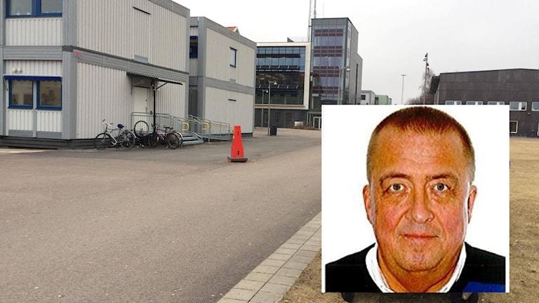 Gymnasiechefen Ulf Olsson är nöjd med skolans hantering av storbråket.