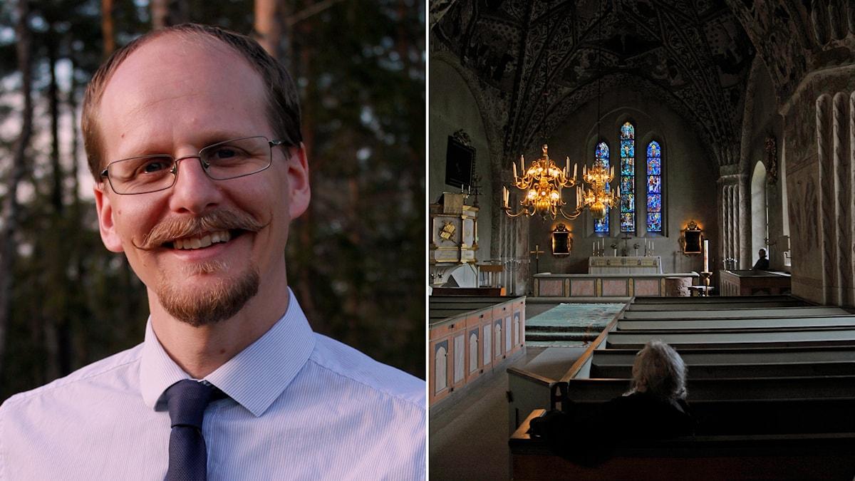 Mattias Lundberg, musikprofessor är kritisk till Svenska kyrkans agerande.