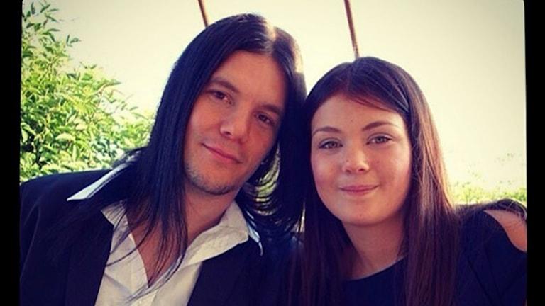 Daniel Erlandsson och dottern Isabelle Erlandsson.