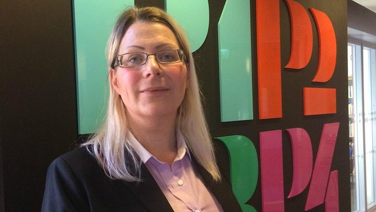 Lisa Olsson, sektionschef vid arbetsförmedlingen i Halmstad.