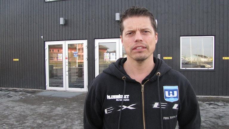 Stefan Smedberg. Foto: Linus Lindahl/Sveriges Radio. Arkivbild.