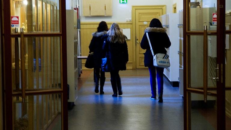 Gymnasievalet ska undersökas av Halmstadsforskare. Foto: Karin Malmhav/Scanpix.