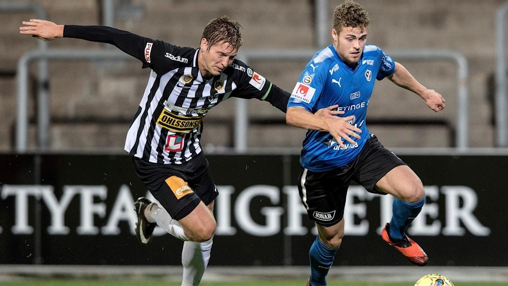 Gabiel Gudmundsson i Halmstads BK gjorde det matchavgörande målet.