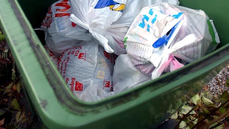 Sopor avfall Foto: Scanpix