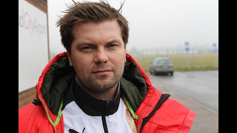 Jens Gustafsson. Foto: Patric Ljunggren/Sveriges Radio.