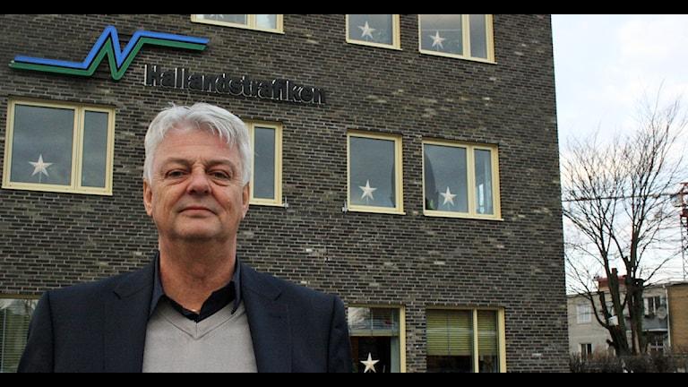 Bruno Andersson på Hallandstrafiken säger att förörlöner omkring hundringen och lägre kom som en nyhet. Foto: Sara Görsch