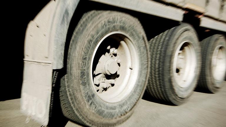 Arkivbild. Åkeriägarna menar att det sker många dieselstölder. Foto: Scanpix