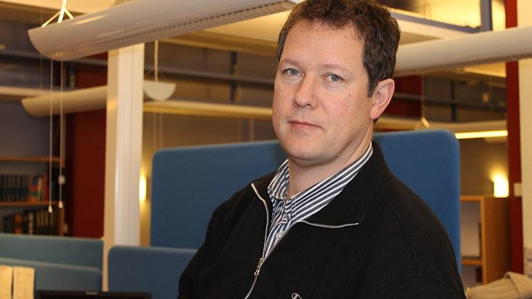 Tomas Gustafsson, kanalchef. Foto: Sveriges Radio