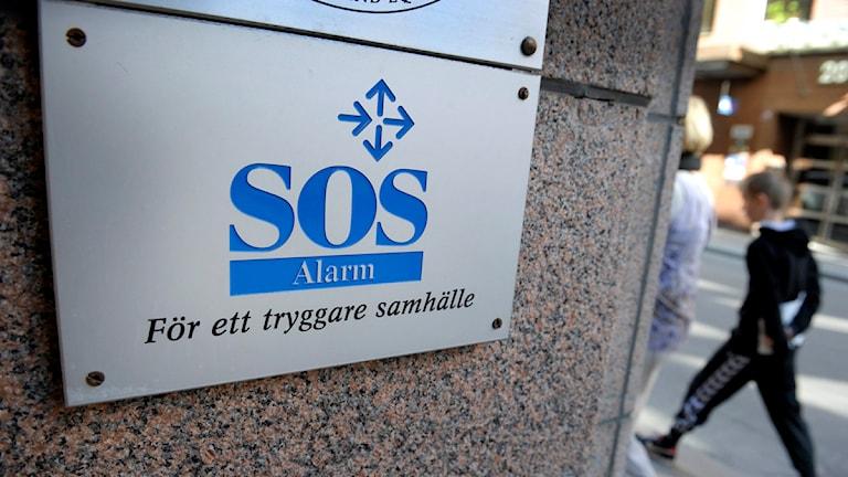 SOS Alarm har tekniska problem. Foto: Scanpix