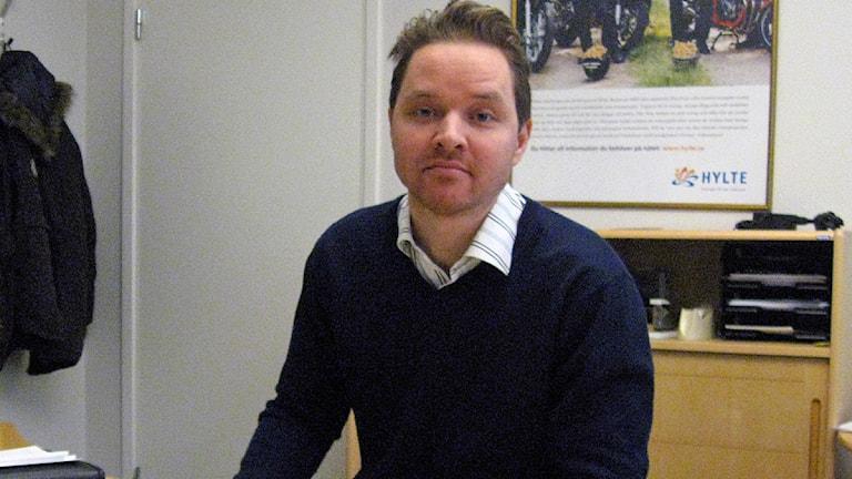 Henrik Erlingsson. Foto: Lars Salomonsson/Sveriges Radio