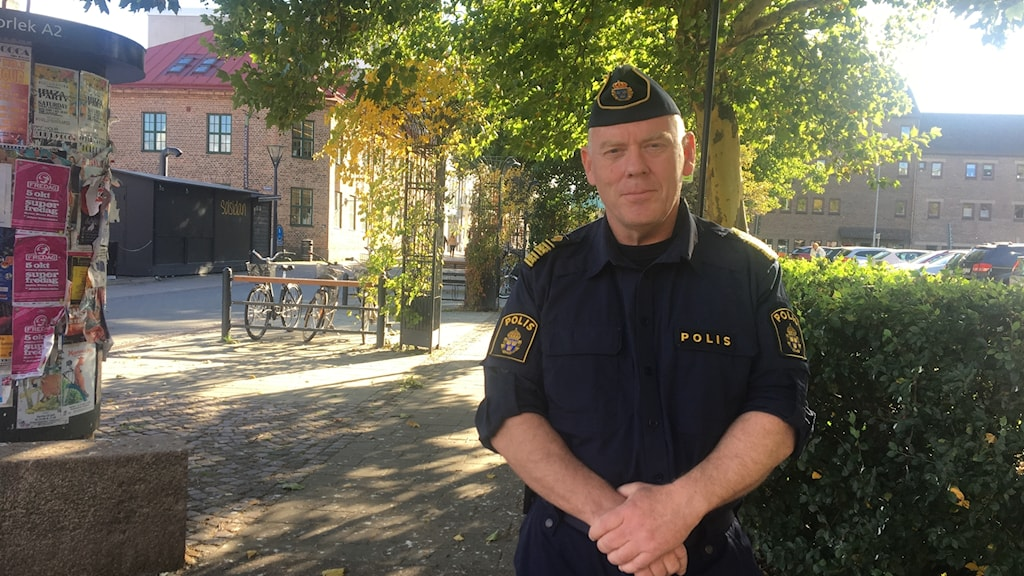 Mats Palmgren, polisområdeschef Halland.