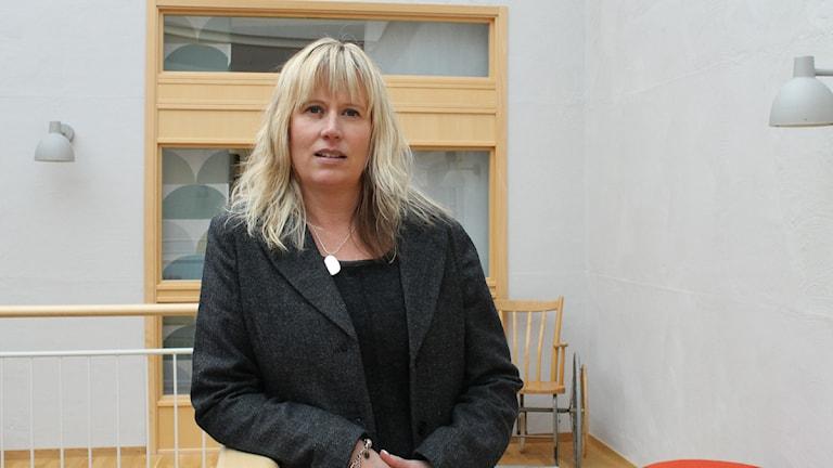 Mikaela Waltersson. Foto: Sara Hector/Sveriges Radio