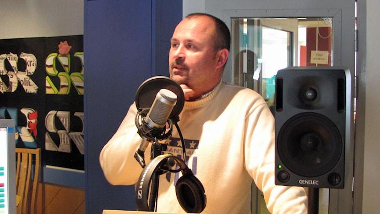 Lars Püss, ordförande i miljö- och hälsoskyddsnämnden i Halmstad. Foto: Sveriges Radio
