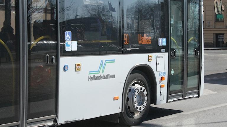 Buss Hallandstrafiken trafik Foto: Sara Hector/Sveriges Radio