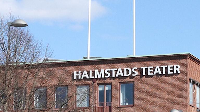 Halmstads teater. Foto: Sara Hector/Sveriges Radio