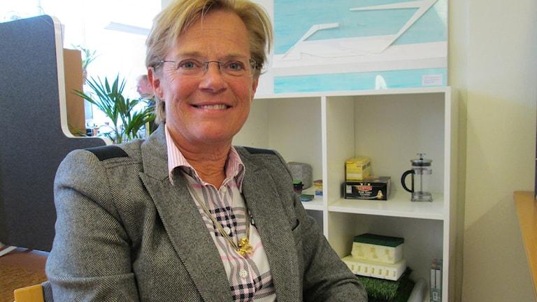 Varbergs kommun hyrde man in en chef från ett bolag där Ann-Charlotte Stenkil är en av delägarna.. Foto: Jennie Persson/Sverige Halland.