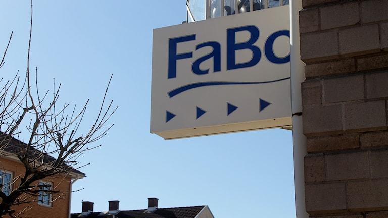 Fabo kontor Falkenbergs bostäder. Foto: Sara Hector/Sveriges Radio