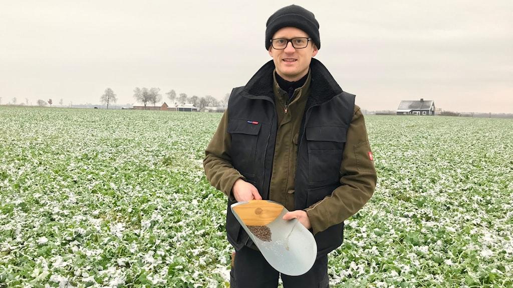 Philip Hedeng, spannmålsodlare på Heagårds egendom.