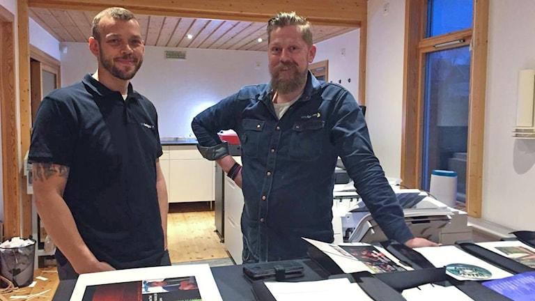 Thomas Lundin och Christian Hellström