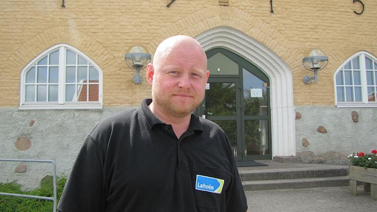 Jonas Hellsten, Vice ordförande i Barn och Ungdomsnämnden. Foto: Johan Sundström/Sveriges Radio