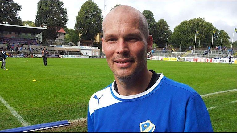 Fredrik Ljungberg. Foto:Patric Ljunggren Sveriges Radio