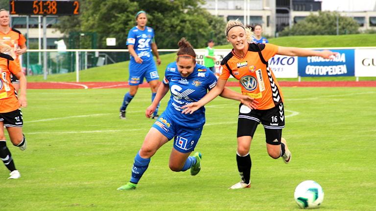 Matchbild Kungsbacka DFF - Gefle.