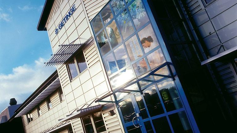 Dagens huvudkontor i Getinge. Foto: Pressbild