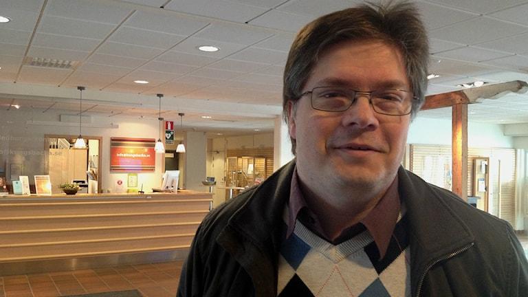 Larry Söder, kristdemokratisk ledamot i Kungsbacka kommun. Foto: Jennie Persson/Sveriges Radio.