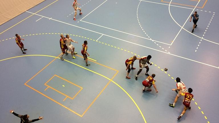 Drott får i nuläget varken träna eller spela i Halmstad arena.