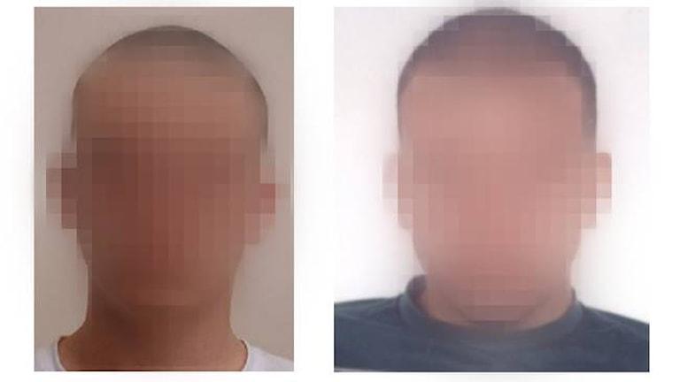 Polisen publicerade i torsdags bilder på de mordmisstänkta männen. Foto: Polisen