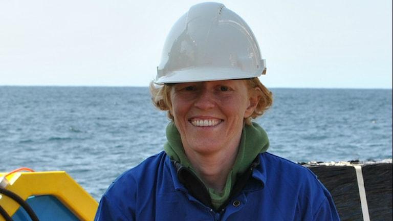 Elin Darelius Chiche är oceanograf och forskare med specialisering på polområdena. Foto: Privat