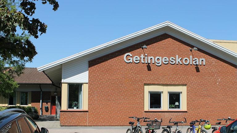 Getingeskolan i Halmstad. Foto: Lisa Hedström Arvidsson/Sveriges Radio.