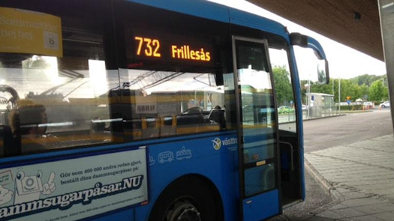 Är Hallandstrafikens skolbussupphandling politiskt styrd? Foto: Sveriges Radio
