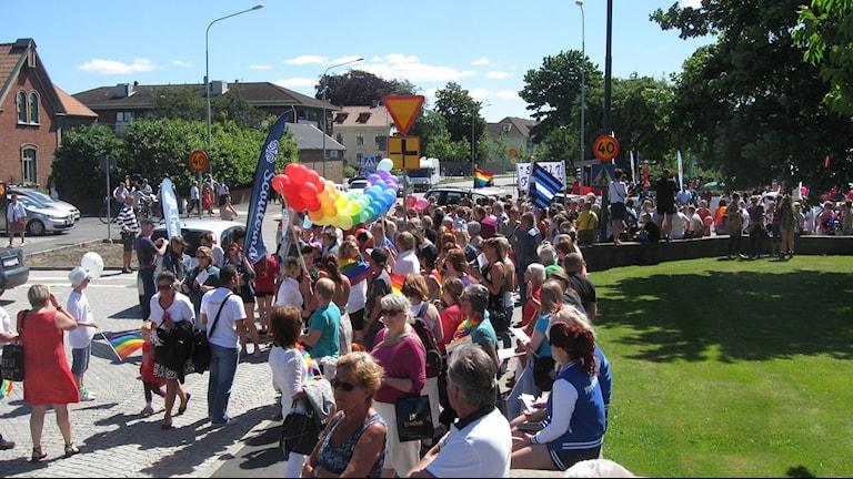Stor uppslutning bakom Pride i Falkenberg