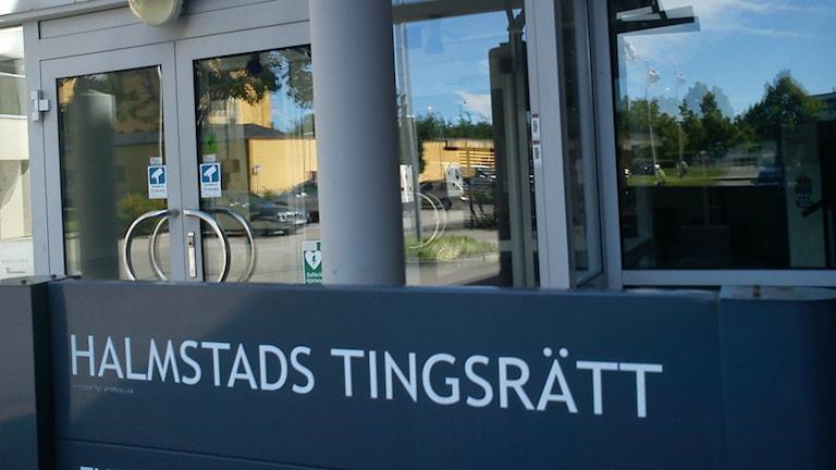 Halmstad Tingsrätt. Foto: Sveriges Radio.