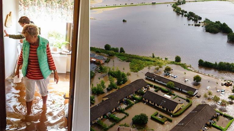 Översvämningar, Halland